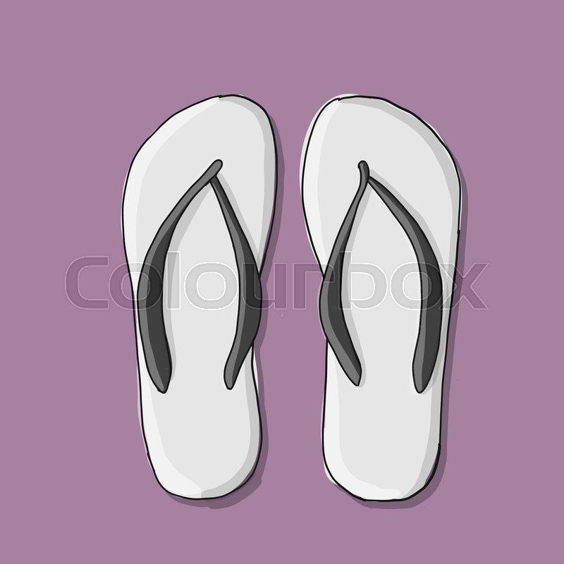 cb173f8e88f52 Beach sandals mockup