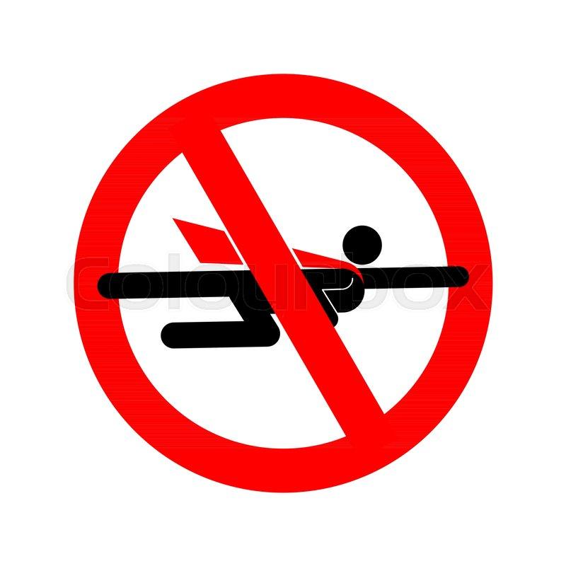 Stop Super Hero Forbidden Superhero Road Sign Prohibiting Road