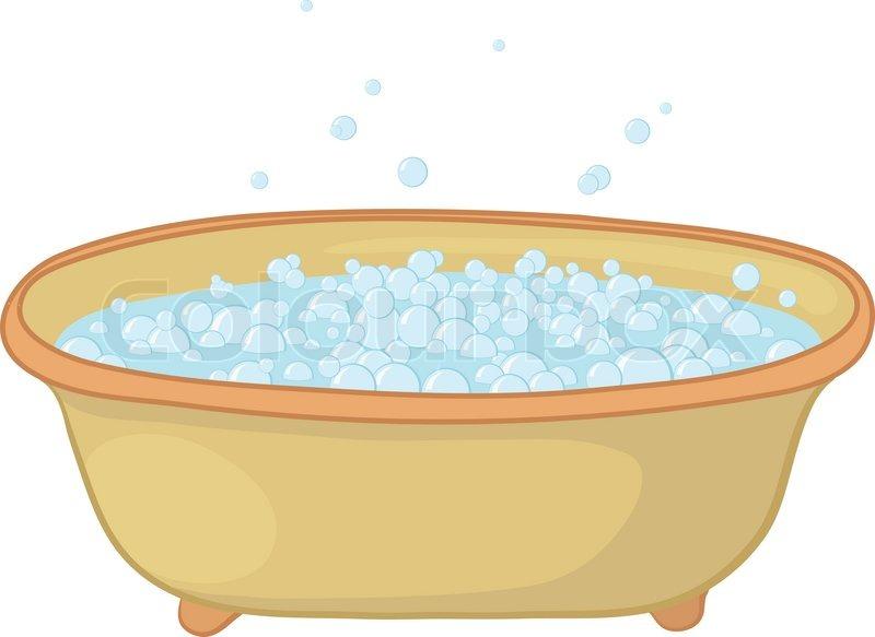 badekar med bobler Gamle badekar med blå bobler af sæbeskum | stock vektor | Colourbox badekar med bobler