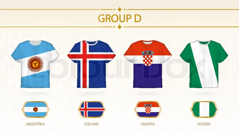 266d11ed0 Football t-shirt with flags