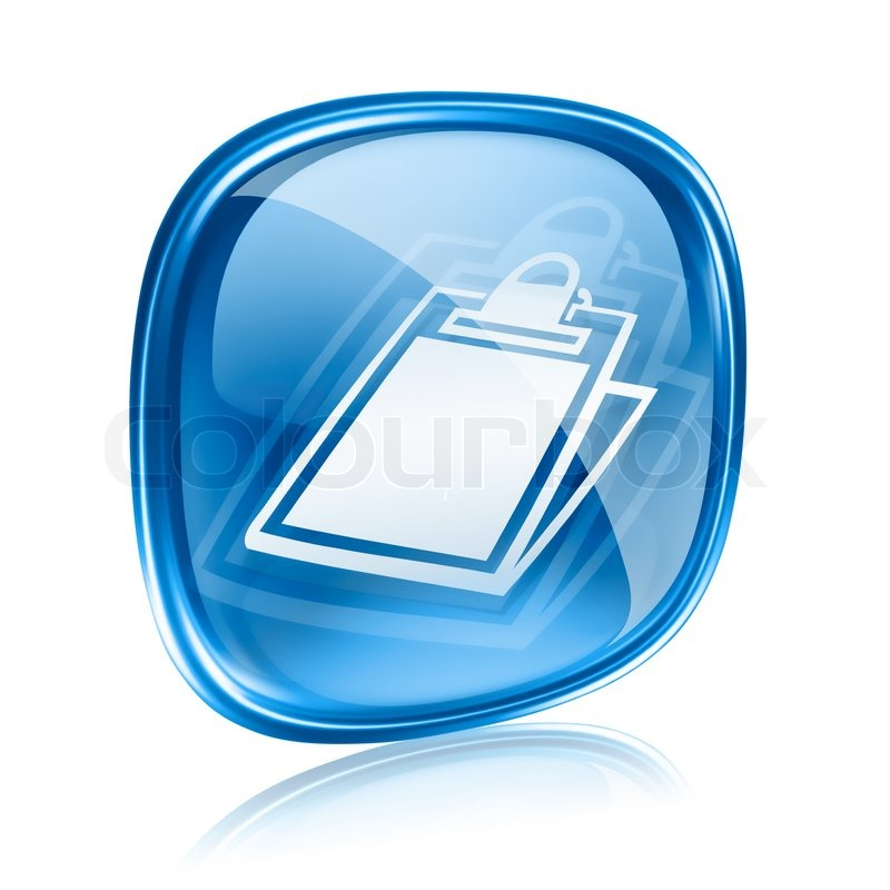 Conference Table Icon Table Icon Blue Glass