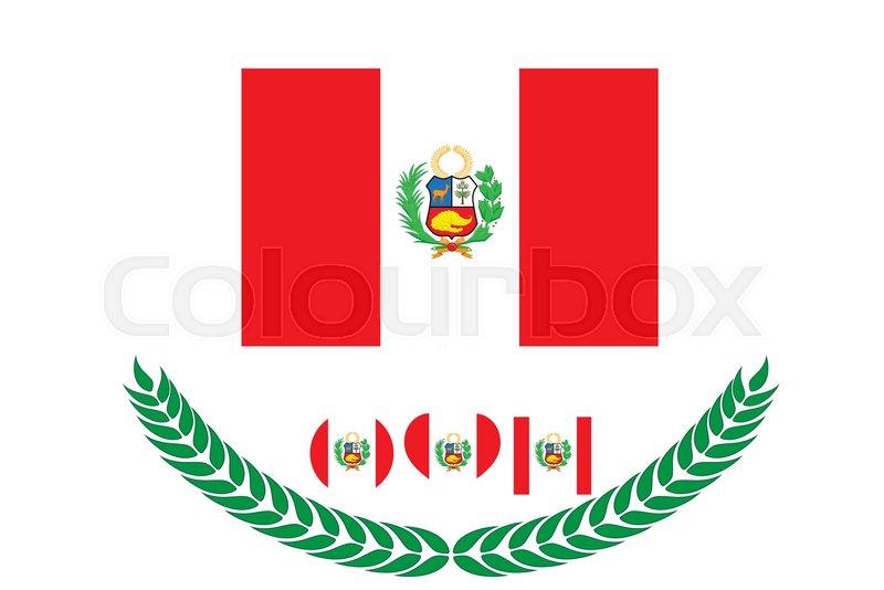 peru flag vector illustration peru flag national flag of peru on