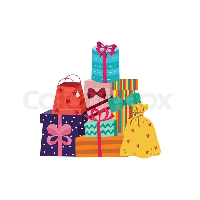 birthday party anniversary celebration new year christmas valentine day xmas holiday invatation greeting card design vector illustration stock vector
