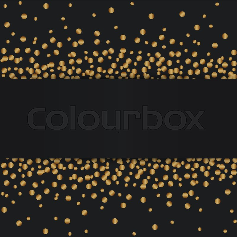 Illustration of Gold glitter texture     | Stock vector | Colourbox