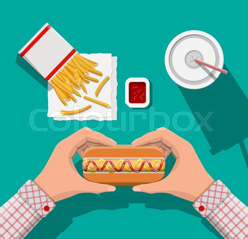 965624fc5538 Tasty hotdog