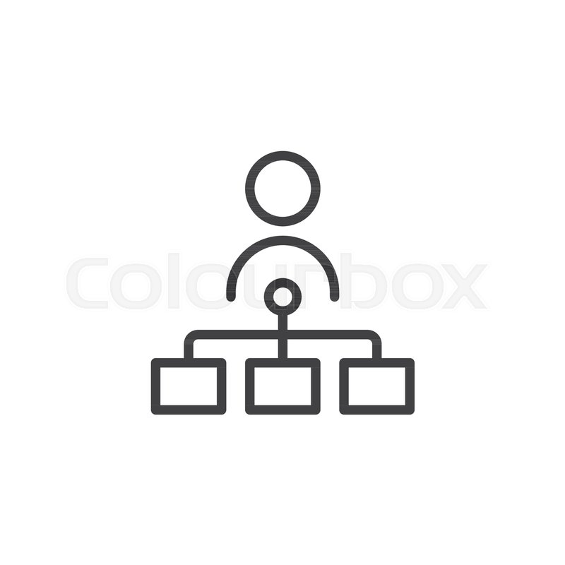 Teamwork Outline Icon Linear Style Sign For Mobile Concept And Web