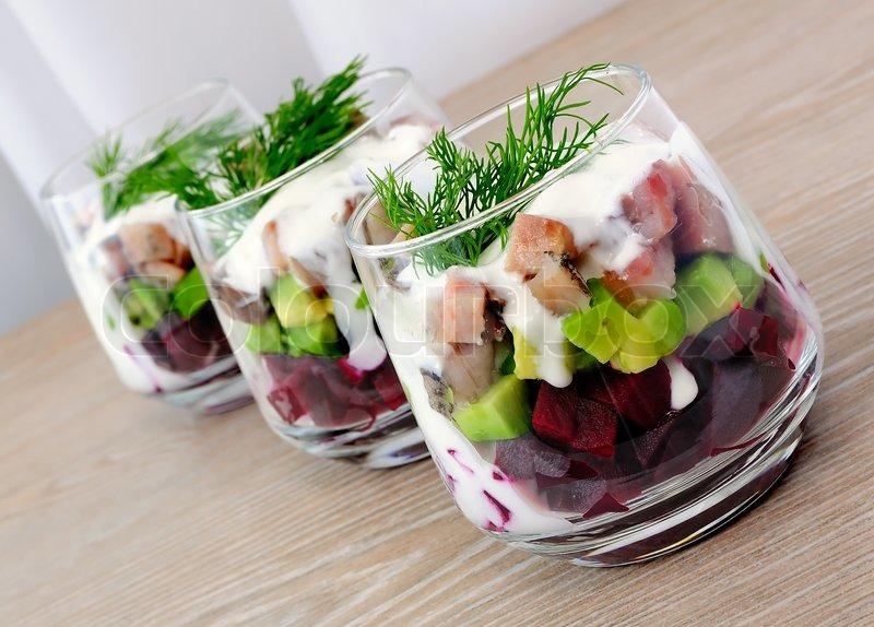 salat als vorspeise zu weihnachten beliebte eezepte f r. Black Bedroom Furniture Sets. Home Design Ideas