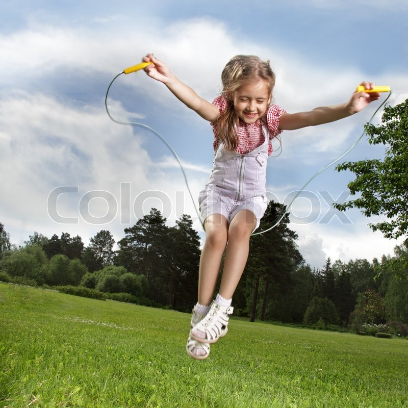 children skipping exercise - photo #8