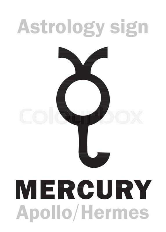 Astrology Alphabet Mercury Stilbonapollo Hermes The Planetary