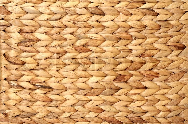 Wicker Woven Texture Background Stock Photo Colourbox
