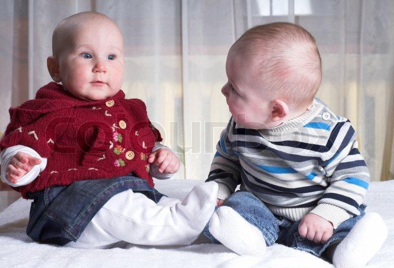 Babys flirten
