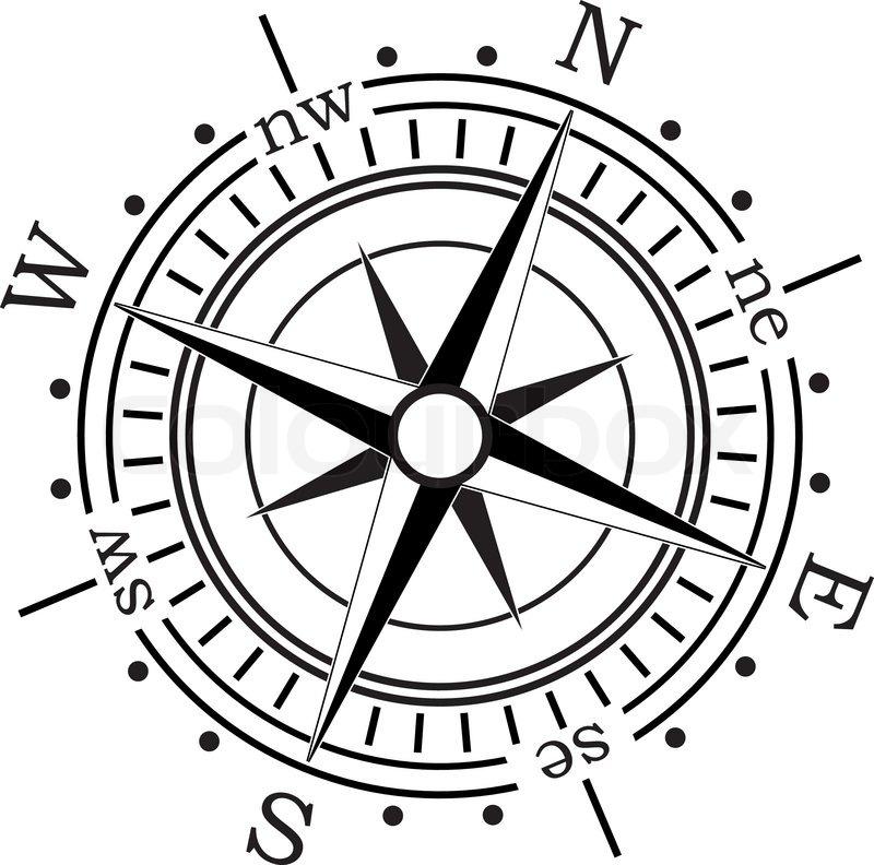 vector compass stock vector colourbox rh colourbox com compass vector logo compass vector png