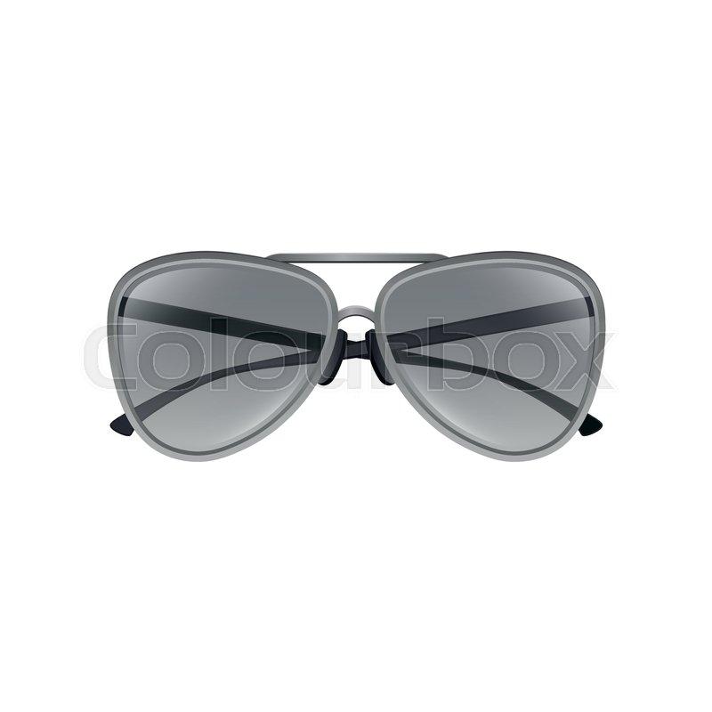 30d7e215e6b Aviator sunglasses with gray tinted ...