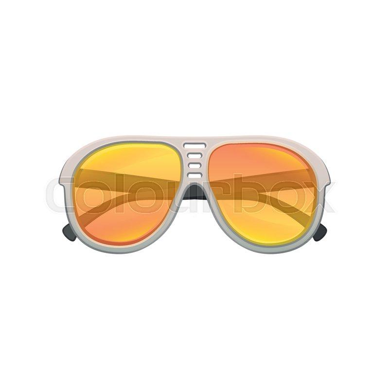 e15185fd1fa21 Cartoon icon of aviator sunglasses ...