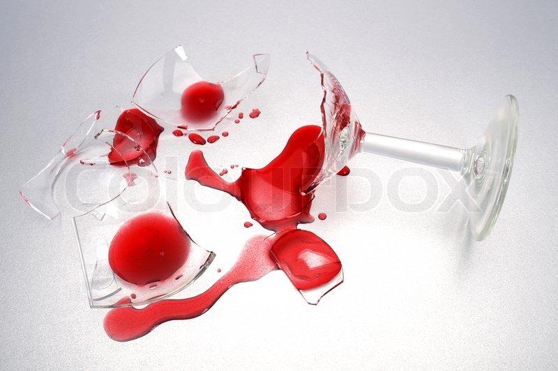 Broken Glass Shards Colour