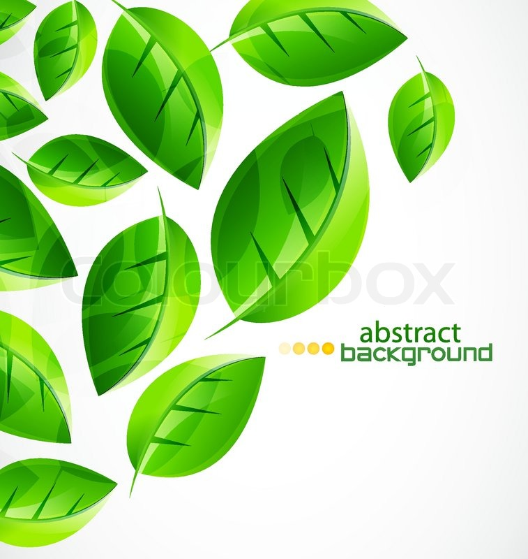 Vector abstract nature background made     | Stock vector