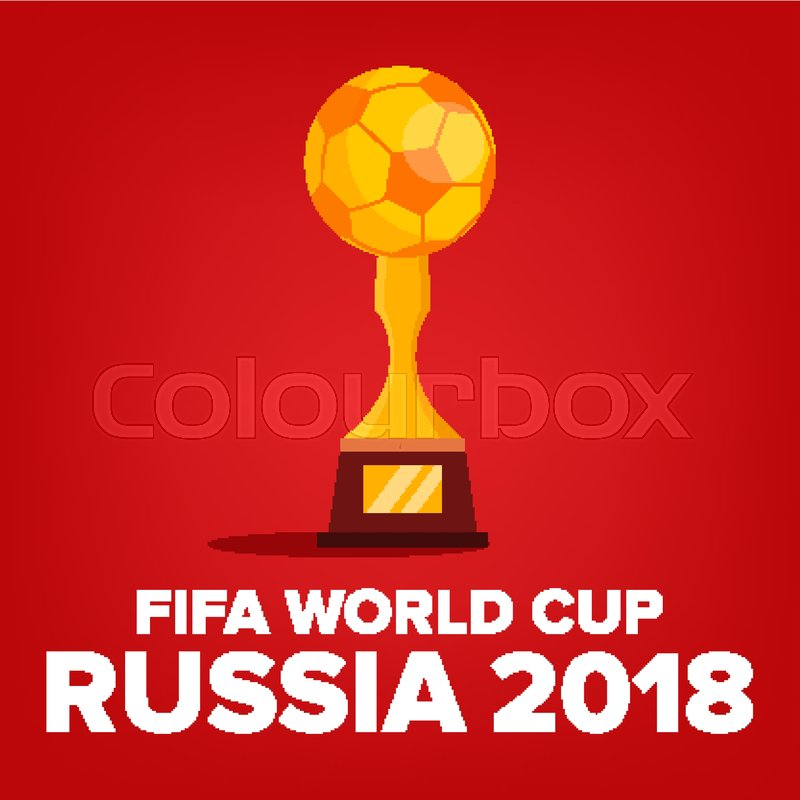 9167c569d 2018 FIFA World Cup Background Vector. ...