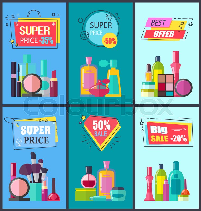 best offer for decorative and medical cosmetics with convenient