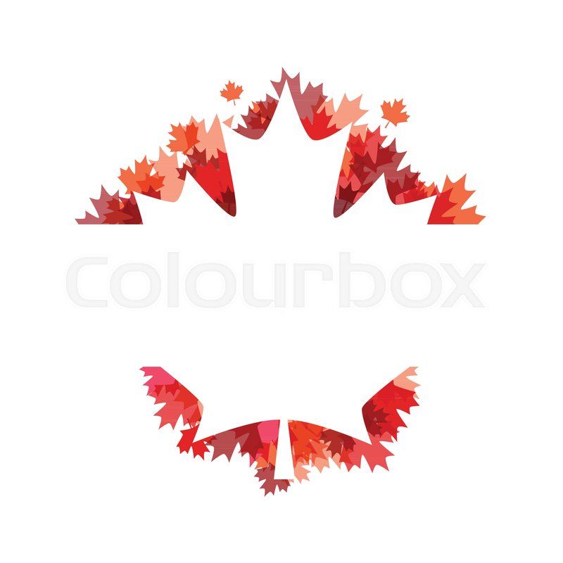 Happy canada day poster 1st july vector illustration greeting card happy canada day poster 1st july vector illustration greeting card canada maple leaves on white background illustration stock vector colourbox m4hsunfo