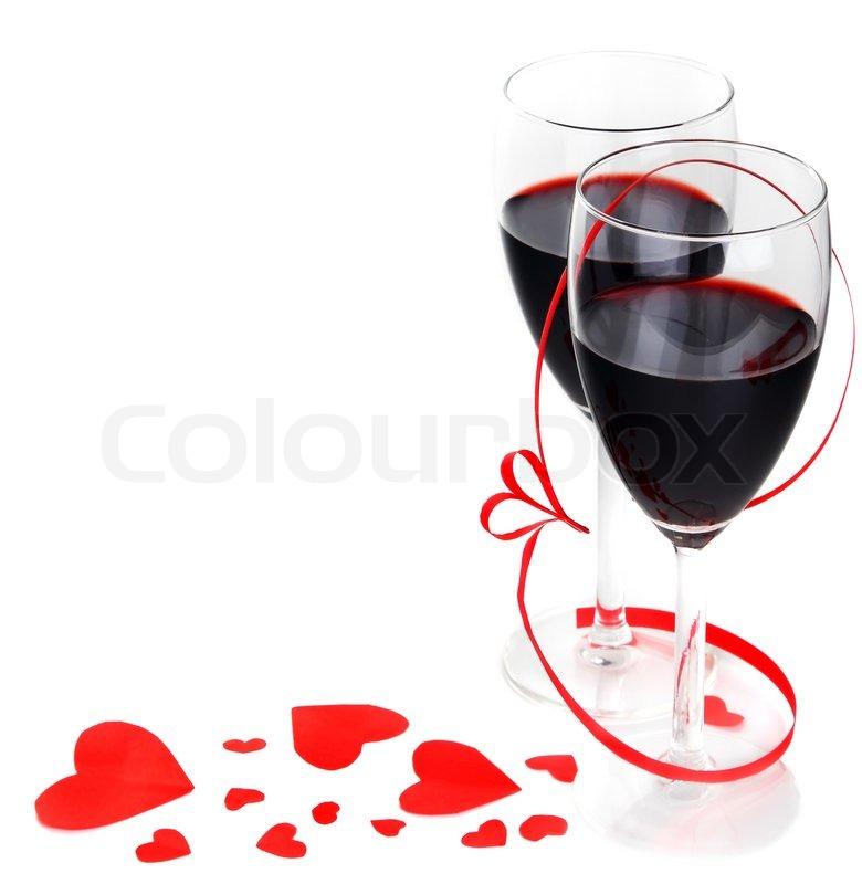 Romantisk ferie drikke fejring af valentinsdag r dvin for Alkohol dekoration