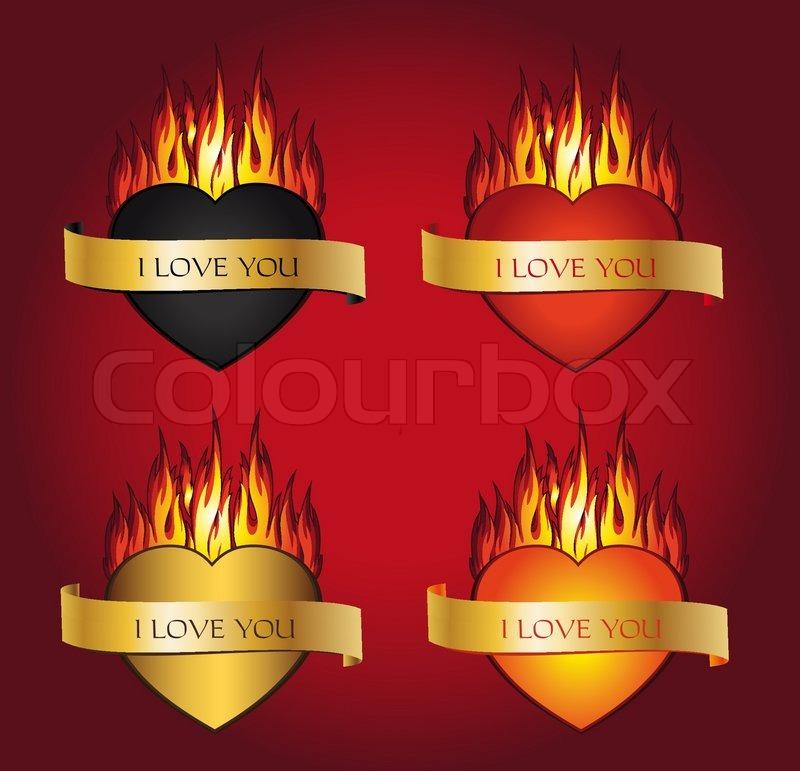 i love you fire