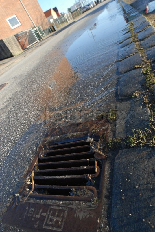 how to find out where drains run