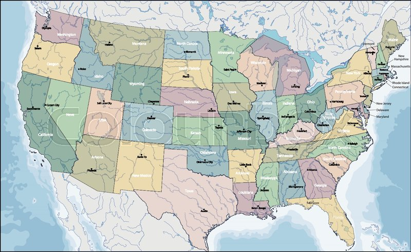 The United States of America is a federal republic composed of 50 ...