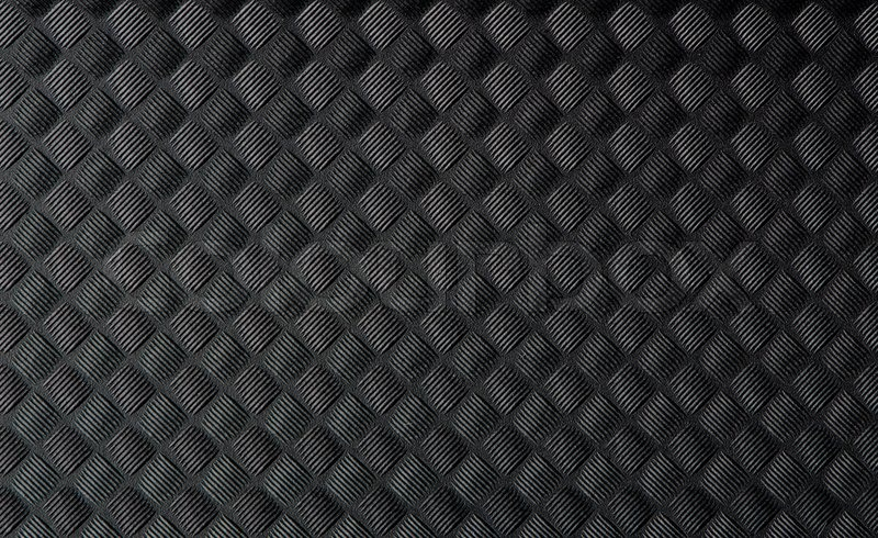 closeup von schwarzen gummimatte textur stock foto colourbox. Black Bedroom Furniture Sets. Home Design Ideas