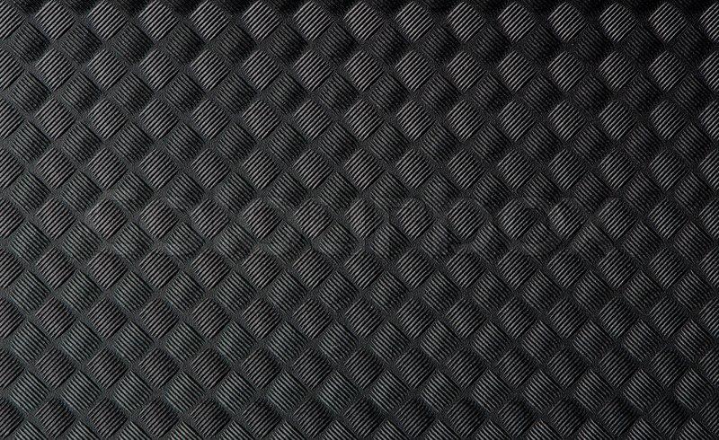 Closeup Von Schwarzen Gummimatte Textur Stockfoto