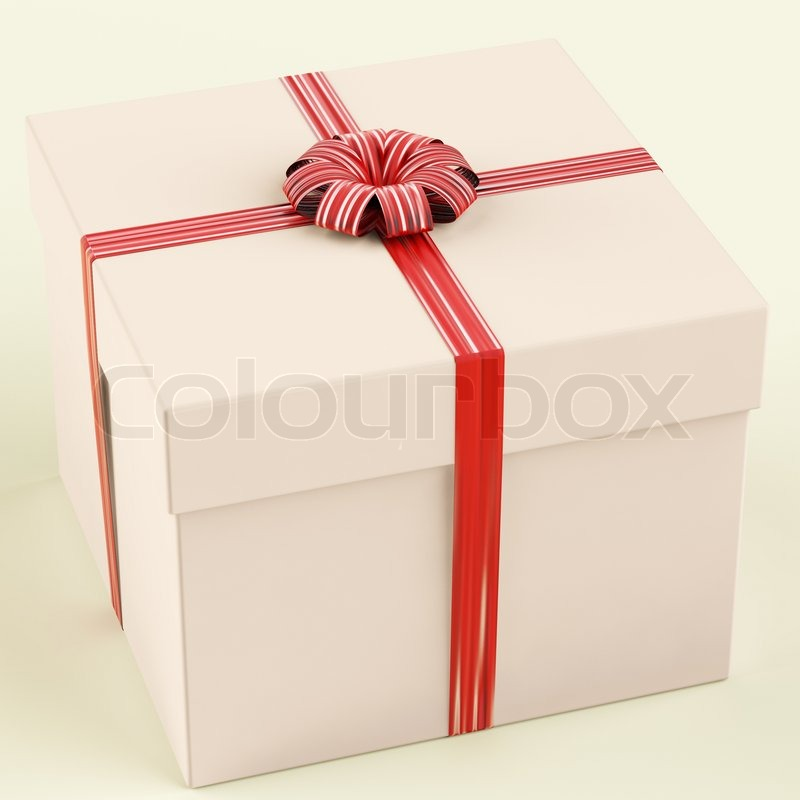 Pink gift box as birthday present for girl stock photo colourbox negle Images