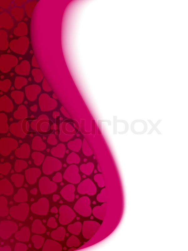Valentines day hearts card template stock vector colourbox maxwellsz