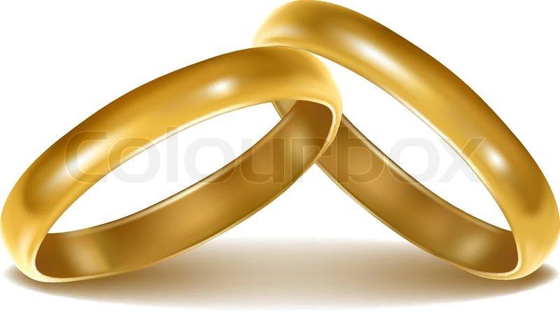 Alliance gold wedding