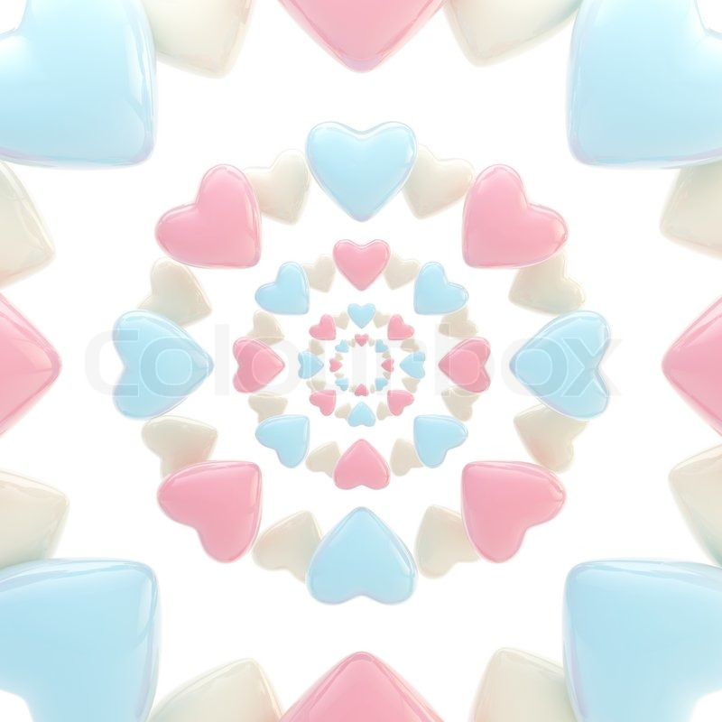 abstract light background made of pink and blue glossy