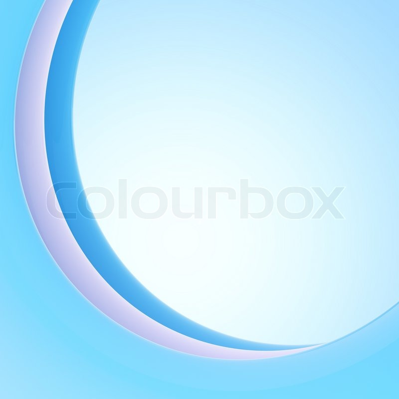 curved ark like light background blue design template stock photo colourbox