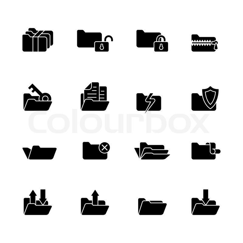 Computer Security Icon Computer Icon Set