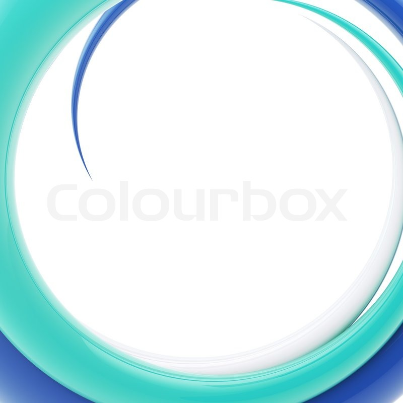 Spiral Glossy Twirl As Abstract Background Bright Design