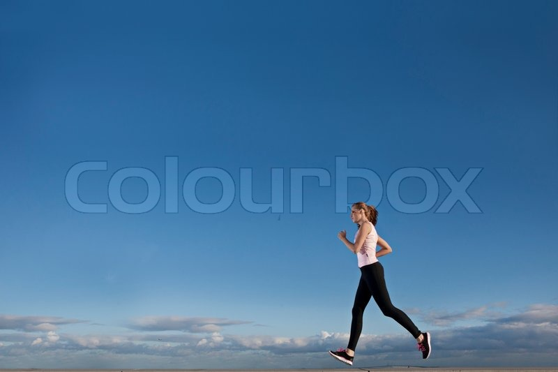 Stock image of 'run, sport, running'