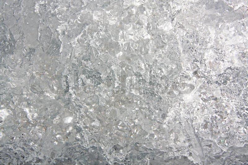 full frame eis hintergrund gefrorenes wasser grau