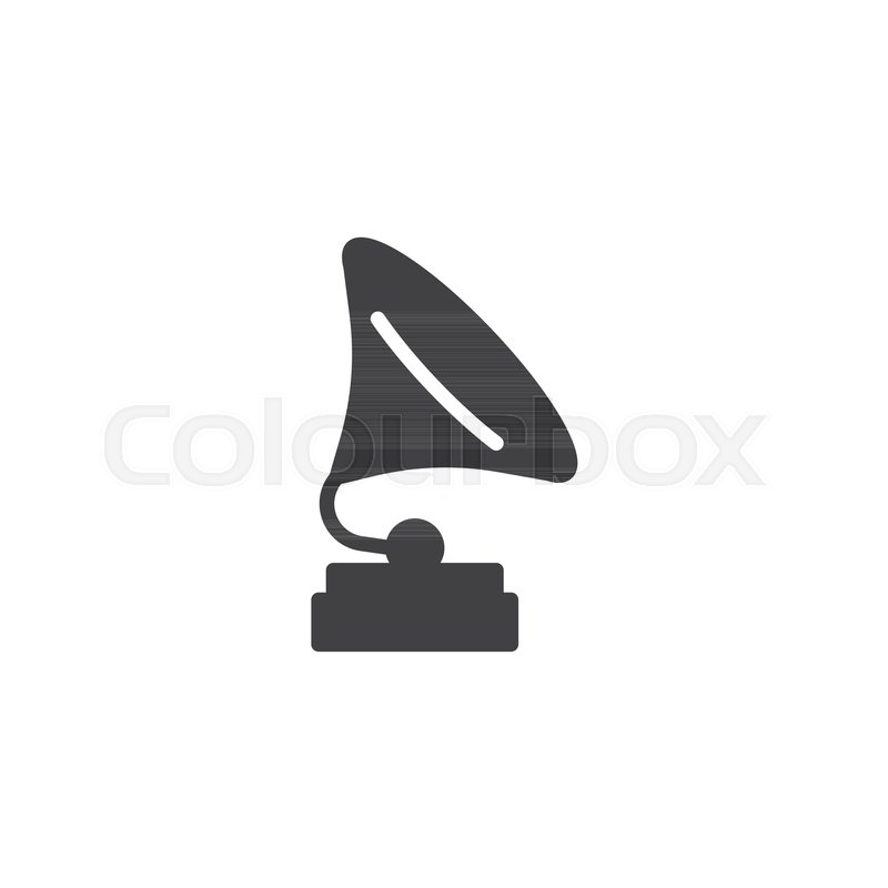 gramophone vector icon filled flat stock vector colourbox gramophone vector icon filled flat