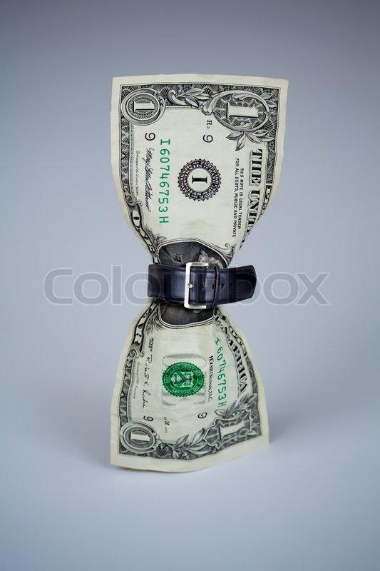 tightened belt