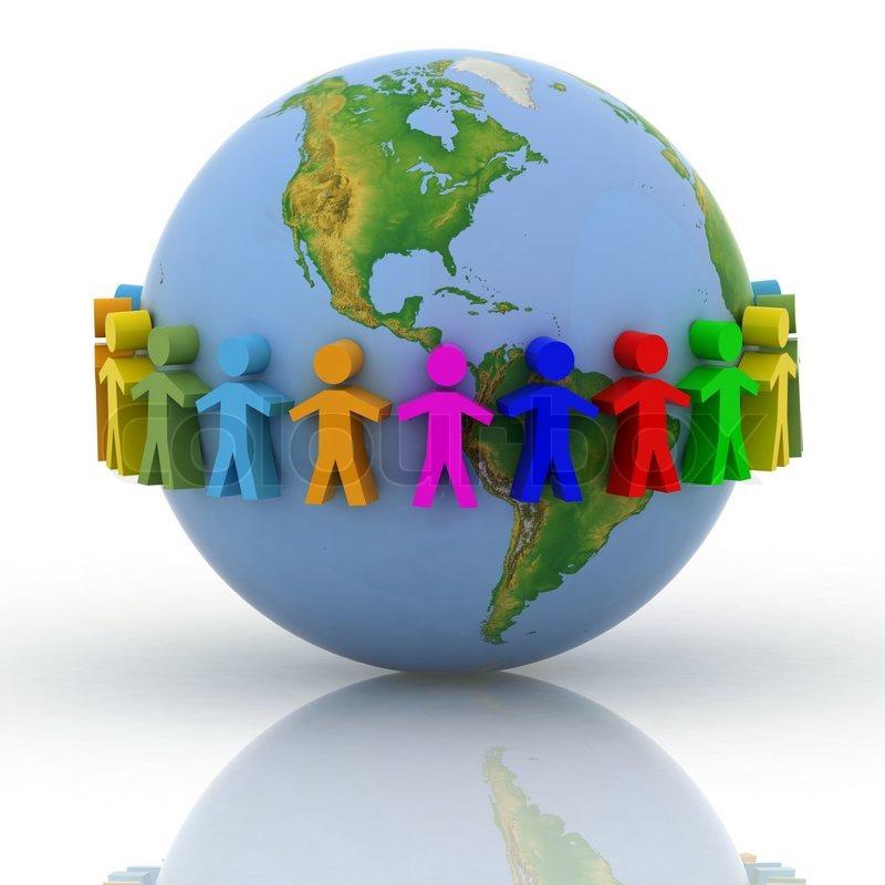 Global Gmp Nedia Group: Global Communication Concept