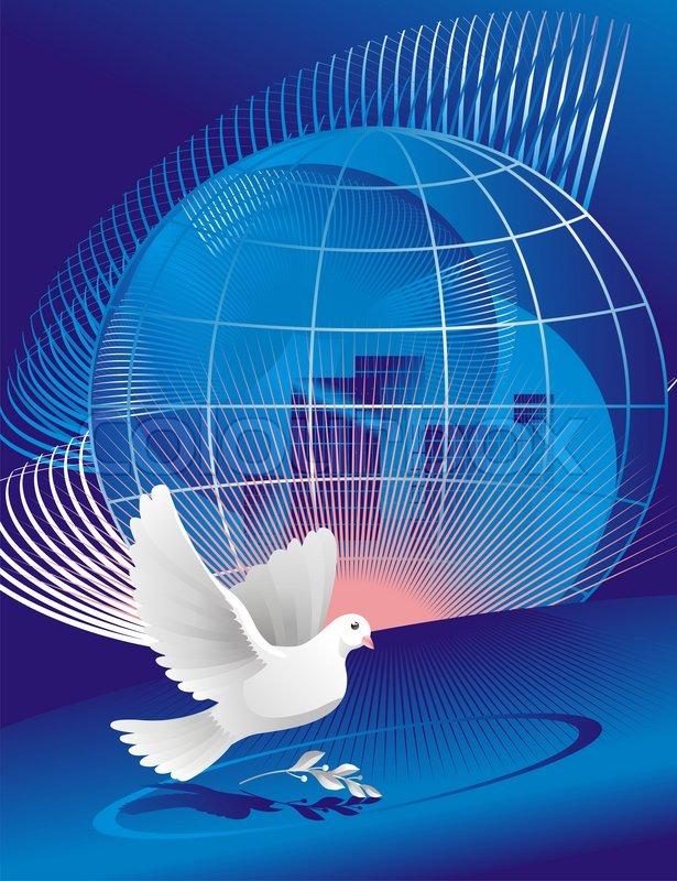 символ мира голубь и шар земной картинки был ваганьковском кладбище