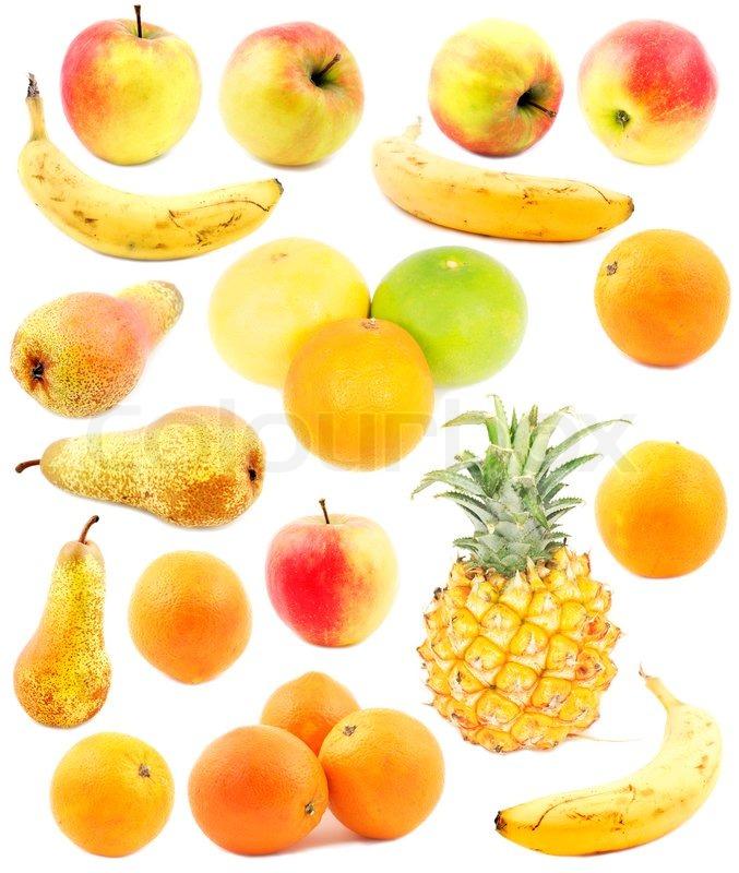 fruit seasons yellow fruits