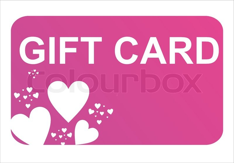 Purple st valentines day gift card Vector – Valentines Day Gift Card