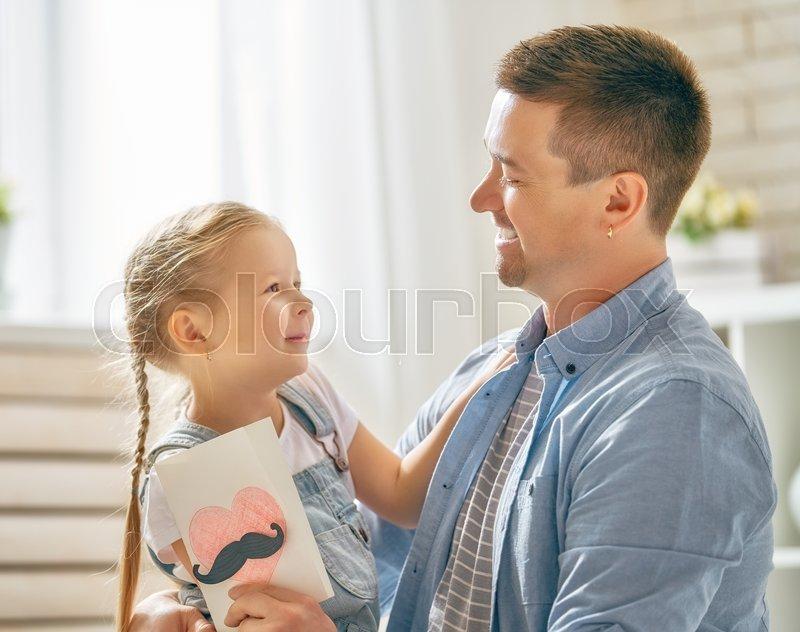 Знаешь, папа и дочь открытки