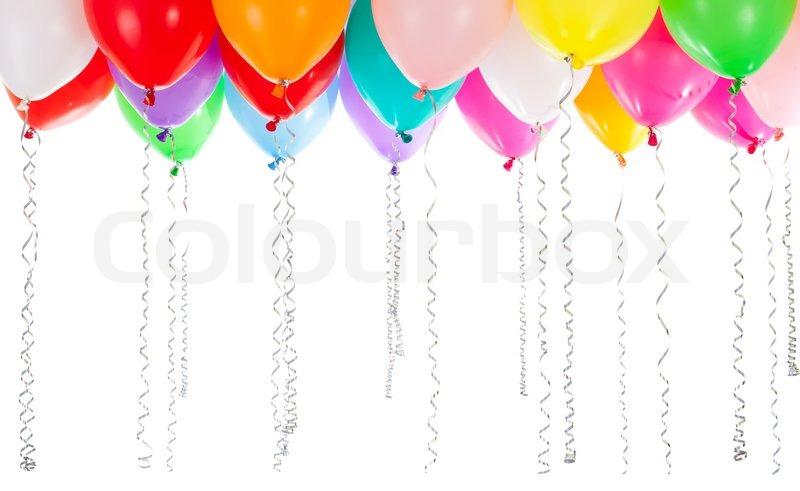 balloons white background - photo #47