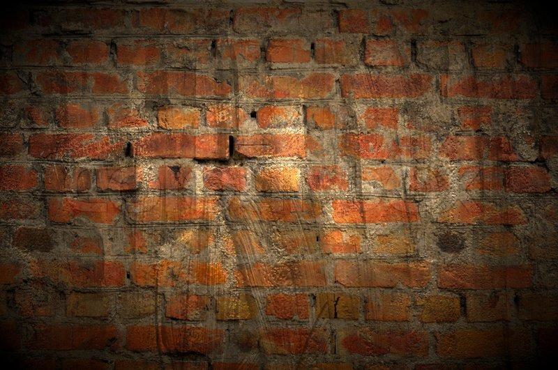 dark grungy brick wall as background stock photo colourbox