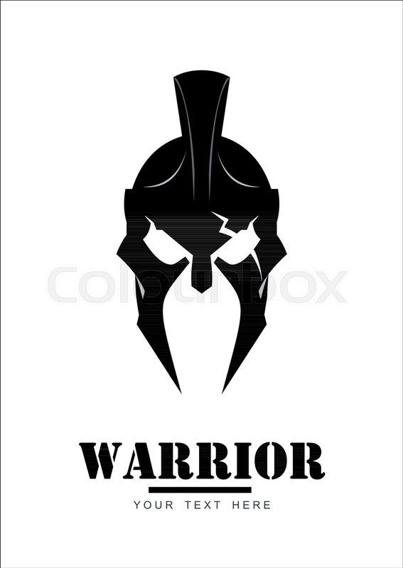 03bb20dfd5b2e Warrior logo, trojan mascot, sparta ... | Stock vector | Colourbox