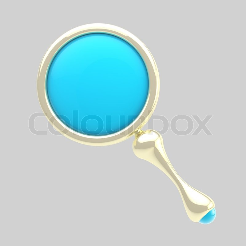 magnifying glass icon blue - photo #29