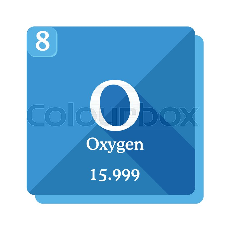Oxygen Chemical Element Periodic Table Of The Elements Oxygen Icon